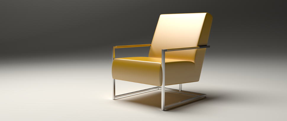 Koinor Chair in Blender 3D