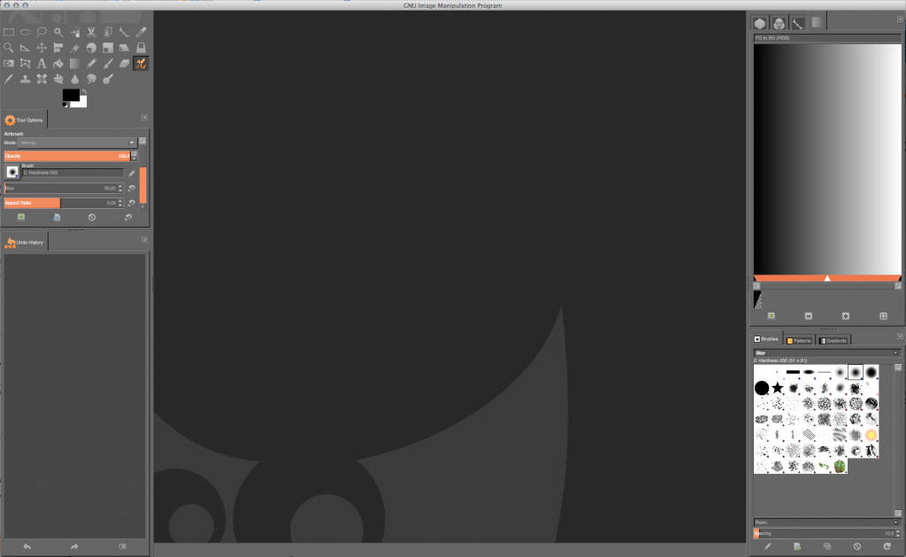 Flat GIMP Theme by Andrew Pullins